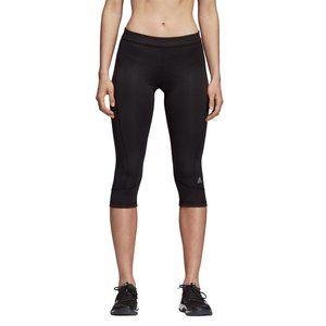 Adidas Women's Techfit Capri Tights Leggings Black
